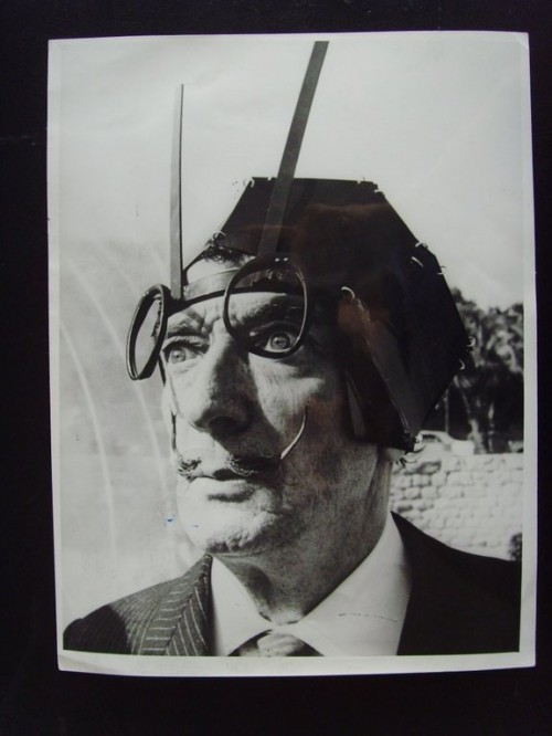 Salvador Dali looks like real Steampunker