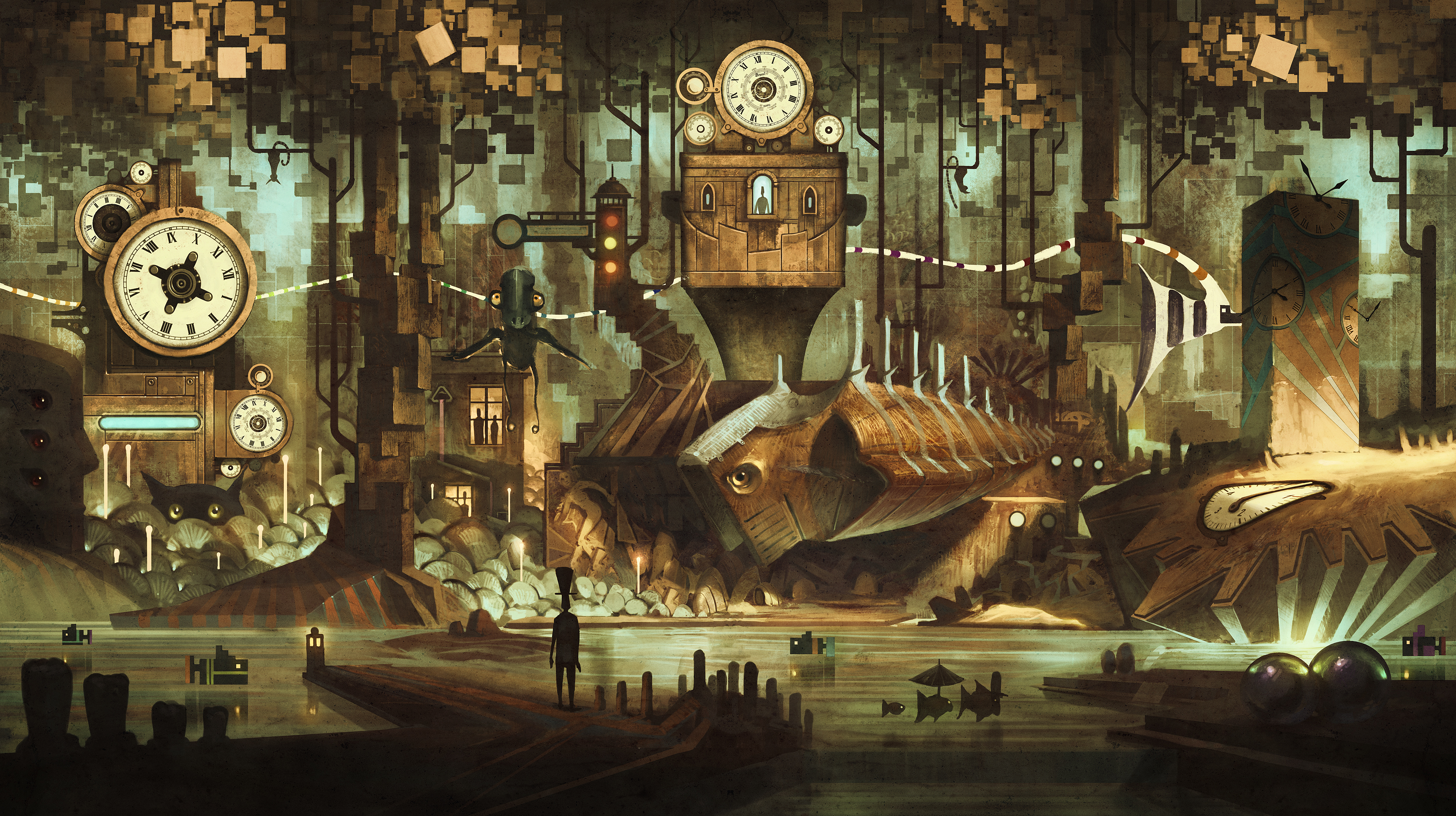 Good   Wallpaper Horse Steampunk - what-is-the-time-24672  Picture_909991.jpg